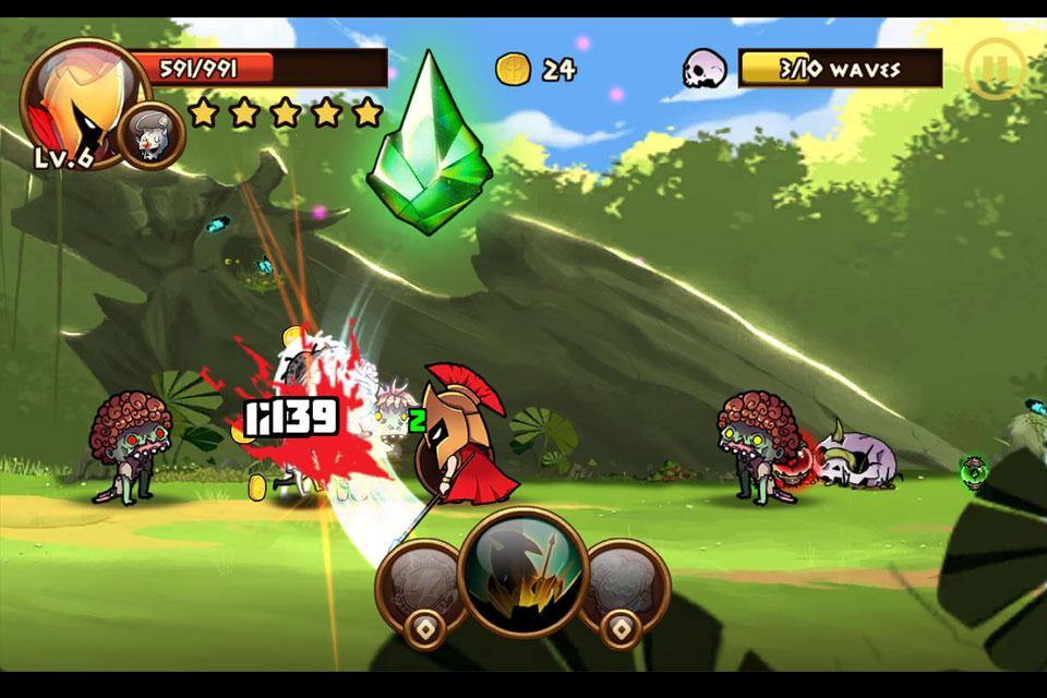 Brave Warriors: Zombie Revenge Screenshot 5