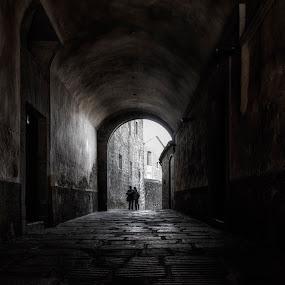 Light & Shadows by Daly Sda - City,  Street & Park  Street Scenes ( street, light, shadows, city, tunnel,  )