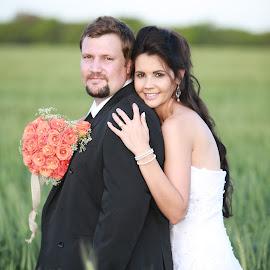 by Lizette Stumpfe - Wedding Bride & Groom