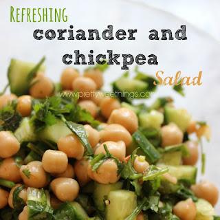 Chickpea Salad Coriander Recipes