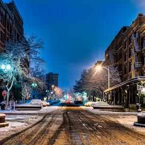 Street View by Jason Brown - City,  Street & Park  Street Scenes