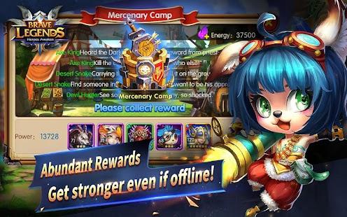 Brave Legends: Heroes Awaken android spiele download