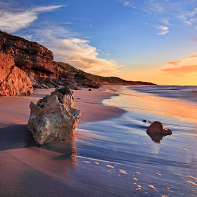 Sunrise at Marion Bay by Zdenka Rosecka - Landscapes Waterscapes (  )