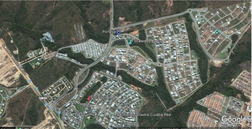 Terreno residencial à venda, Condomínio Residencial Florais
