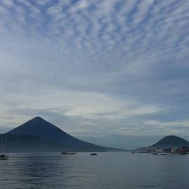 tidore by Husein Utiarahman - Landscapes Mountains & Hills