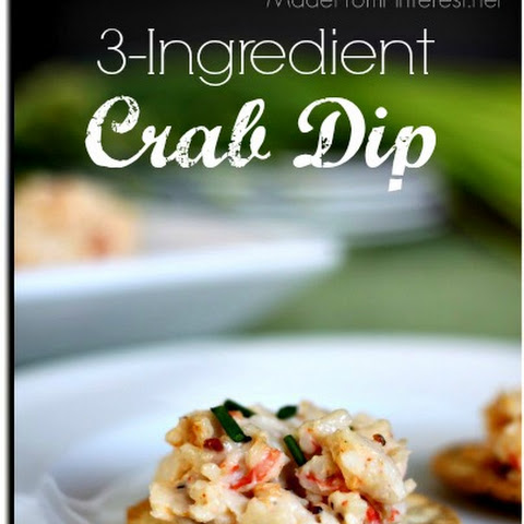3-Ingredient Crab Dip