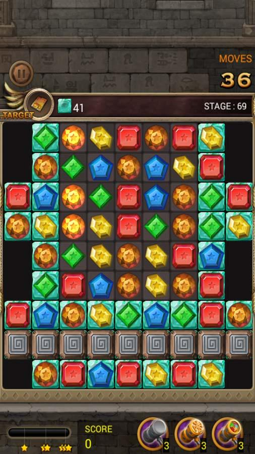 Jewels Temple Quest : Match 3 Screenshot 4