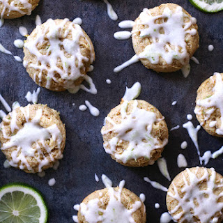 Lime Cream Cheese Cookies