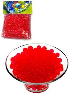 Гидрогелевые шарики S, красные
