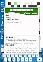 Screenshot of Astraware Crosswords