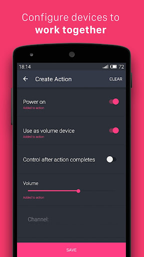 Universal Smart Remote Ezzi TV screenshot 4