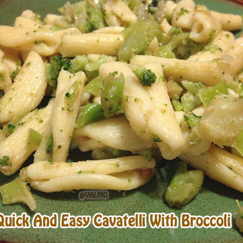 Quick And Easy Cavatelli With Broccoli #recipe
