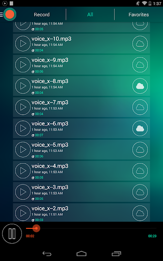 Voice Recorder - Dictaphone screenshot 11
