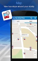 Screenshot of MyTransport Singapore