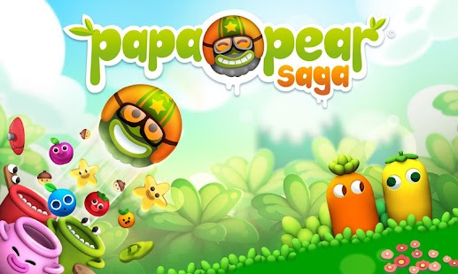 Papa Pear Saga APK for Bluestacks