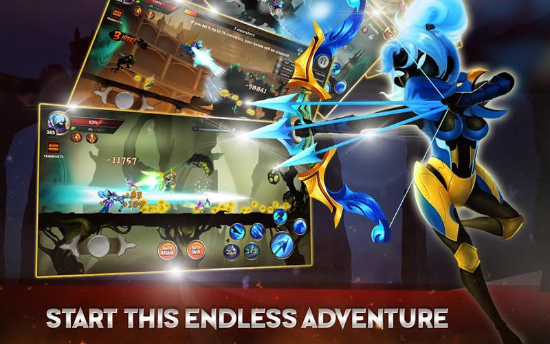 Stickman Legends: Shadow of War Screenshot 2