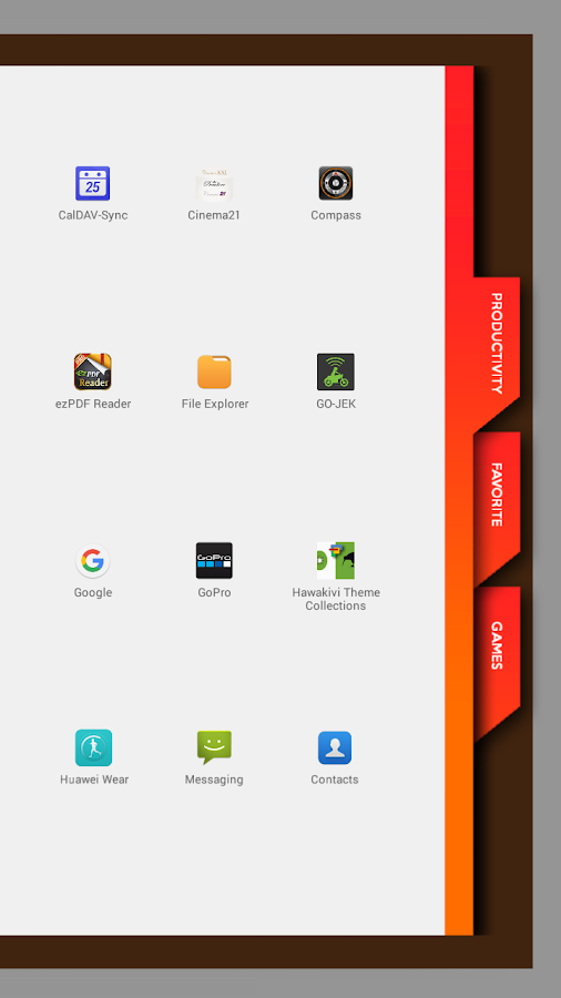 Agenda2 for Total Launcher Screenshot 2