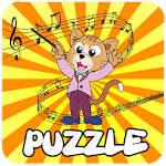 Kids Games Music Puzzle Icon