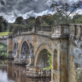 Chatsworth by Andrew Richards - Buildings & Architecture Public & Historical ( bridge )