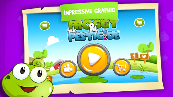 Froggy and The Pesticide - screenshot