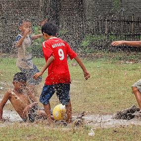 Backyard Football by Aditya Nugraha - Babies & Children Children Candids