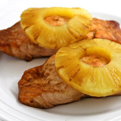 Teriyaki Pineapple Salmon (4 ingredients)