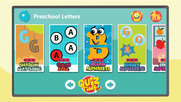 Kids Preschool Learn Letters APK screenshot thumbnail 1