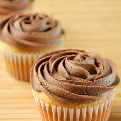 Whipped Chocolate Almond Frosting