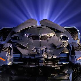 Batmobile from Batman vs Superman by Shawn Thomas - Digital Art Things