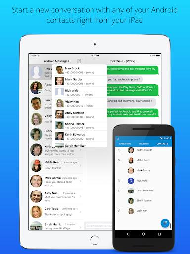 SMS for iPad - screenshot