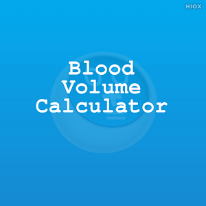 Blood Volume Calculator