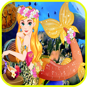 Mermaid Girl Salon-Girls Games