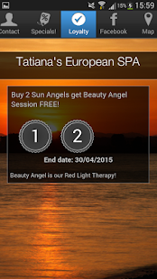 Tatiana's European SPA - screenshot