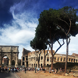Rome by Ivana Tilosanec - City,  Street & Park  Historic Districts ( monuments, coloseum, rome, monument, historic district, italy )