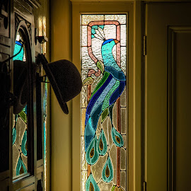 Peacock window by Andrew Stubbings - Buildings & Architecture Other Interior ( stained glass )