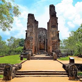Ancient temple by Svetlana Saenkova - Instagram & Mobile Android ( religious, historic, sri lanka, ruins, temple, ancient, building,  )