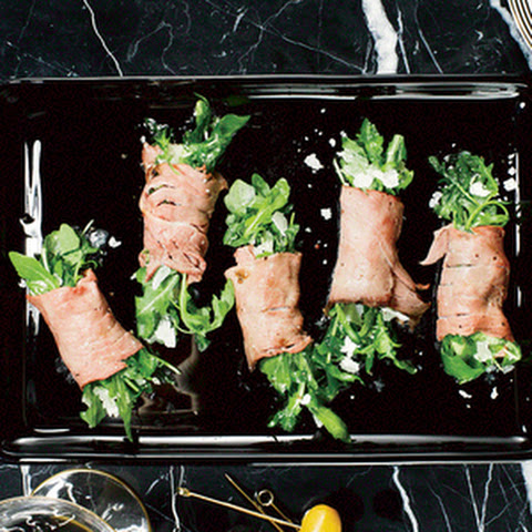 Roast Beef and Arugula Bundles