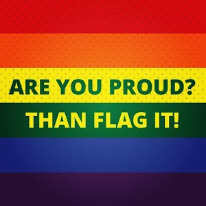 Be Proud! Gay Flag