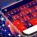 Red and Blue Keyboard Theme Icon