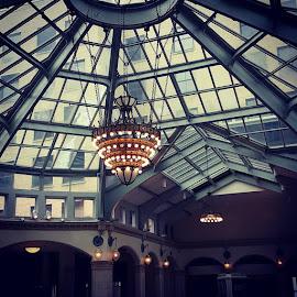 Glass Ceiling by Suzette Christianson - Buildings & Architecture Architectural Detail