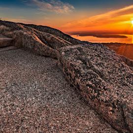Summit Trail by Matt Reynolds - Landscapes Sunsets & Sunrises