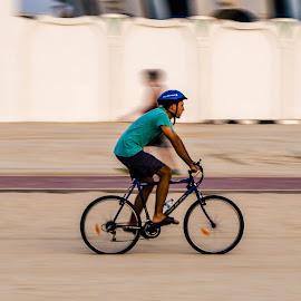 Cycle Race by Sumesh Makhija - Sports & Fitness Cycling ( #cycle, #fun, @pixoto, #pixoto, #beach, #photography, #summer, #race )