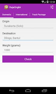 App RajaOngkir - Ongkos Kirim apk for kindle fire
