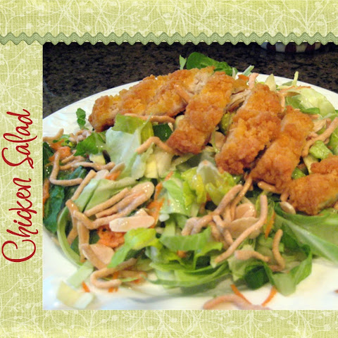 Copycat Recipe – Applebee's Oriental Chicken Salad