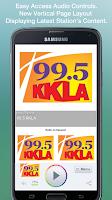 Screenshot of 99.5 KKLA