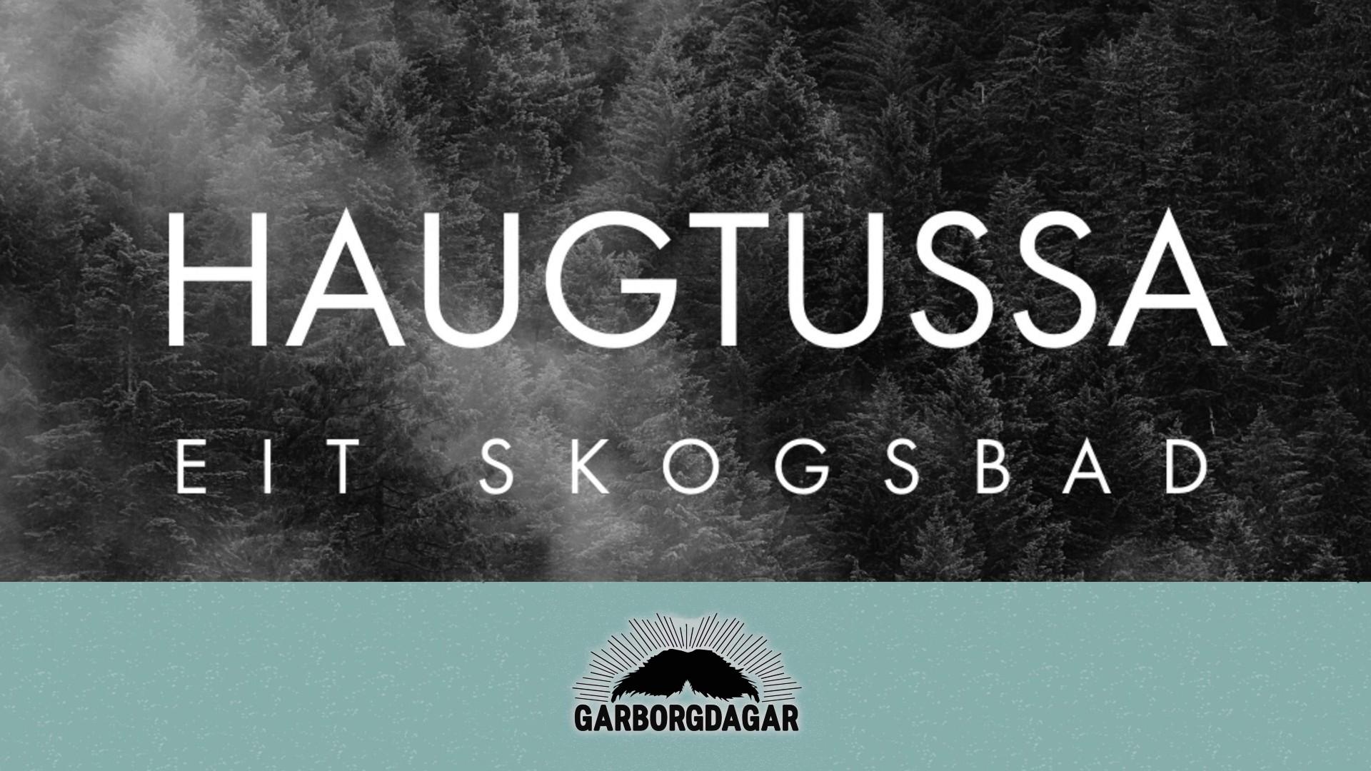 Utstillingsopning  |  Haugtussa:  Eit  skogsbad