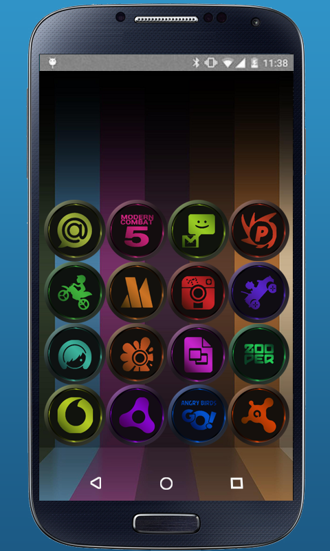 precision - ICON PACK Screenshot 1