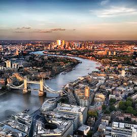 London by Abdul Rehman - Instagram & Mobile iPhone ( natural light, the shard, uk, london, tower bridge, light, river thames, river )