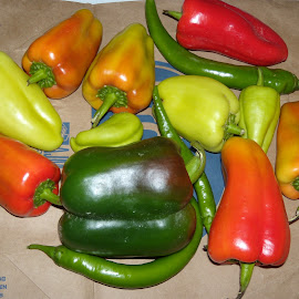 Pepper Gang by Allen Wright - Food & Drink Fruits & Vegetables