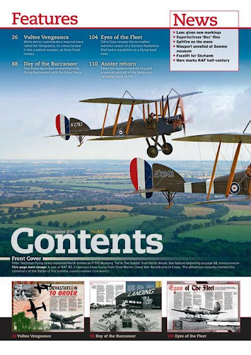FlyPast Magazine - screenshot